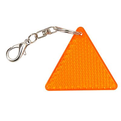 SEGURO reflective key ring,  orange/yellow
