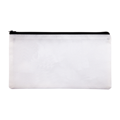 COLOR-ME pencil case with crayons, white