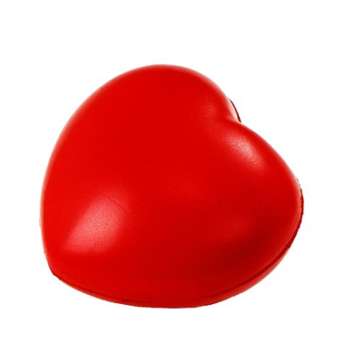 HEARTIE antistress toy,  red
