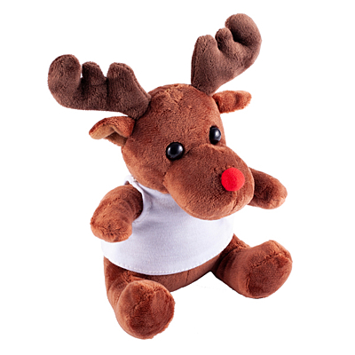 REINDY cuddly toy, brown