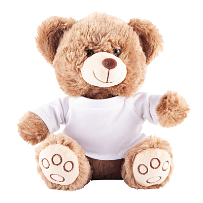 GRIZZLY cuddly toy, brown