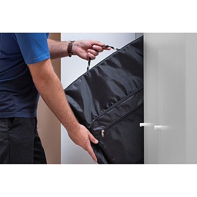 RIVERSIDE garment bag,  black