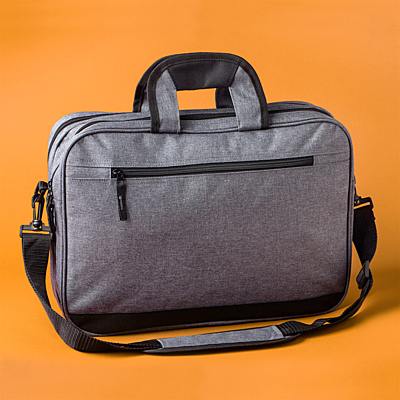 PORTICI document bag, grey