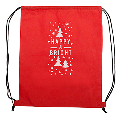 HAPPY&BRIGHT backpack, red